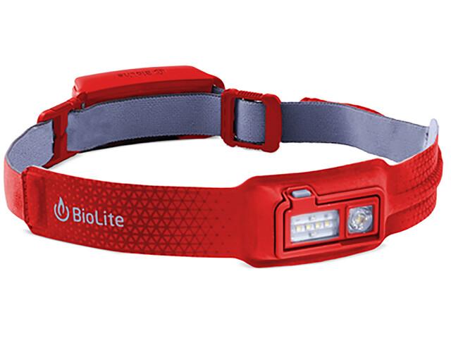 BioLite HeadLamp Pandelampe rød